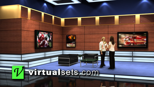 Production Set Design The Stage-right Portion of The