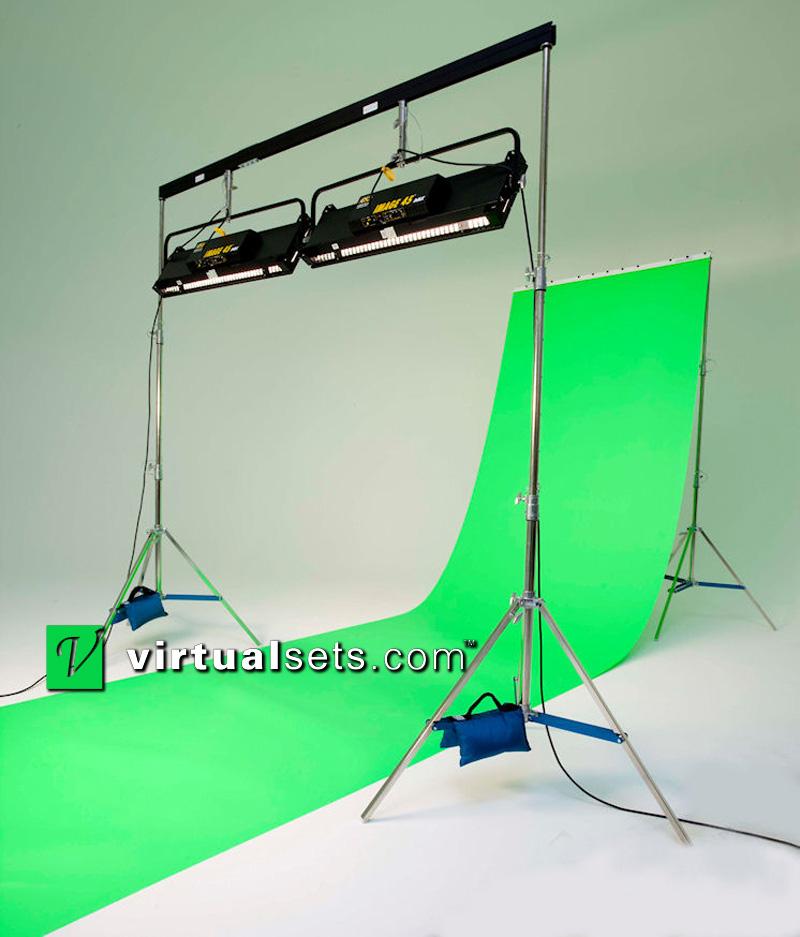 virtualsets com portable green screen